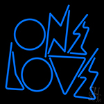One Love Neon Sign