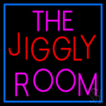 The Jiggly Room Neon Sign