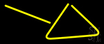 Triangle Neon Sign