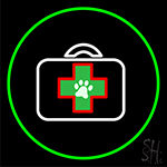 Veterinary Pet Care And Clinic Neon Sign