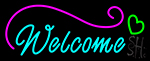 Welcome Love Neon Sign