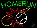 Home Run Neon Sign