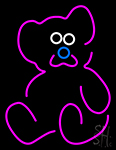 Teddy Bear Neon Sign