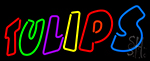Tulips Multi Color Neon Sign