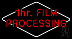 1hr Film Processing Neon Sign