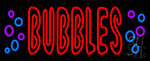 Bubbles Neon Sign