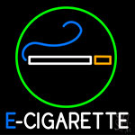 E Cigarette Logo Neon Sign