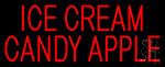 Ice Cream Candy Apple Neon Sign