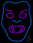 Devil Face Neon Sign