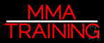 Mma Training Martial Arts Gym Neon Sign