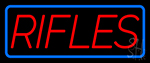 Rifles Neon Sign