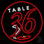 Table 36 Cigar Neon Sign