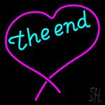 The End Heart Neon Sign