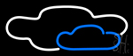 Clouds Real Neon Sign