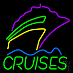 Cruises With Logo Neon Sign