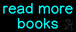 Read More Books Neon Sign