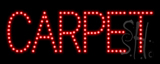 Carpet LED Sign