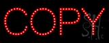 Copy LED Sign