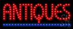 Antiques Led Sign