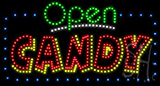 Open Candy Led Sign