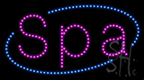 Spa Led Sign