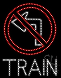 Train Led Sign