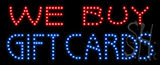 We Buy Gift Cards Led Sign