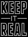 Keep It Real Neon Sign
