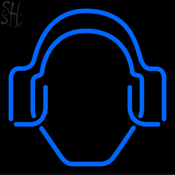 Custom DJ Logo Neon Sign 3