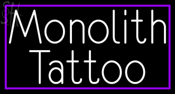 Custom Monolith Tattoo Neon Sign 4 #2: custom monolith tattoo neon sign 4 tHzmk
