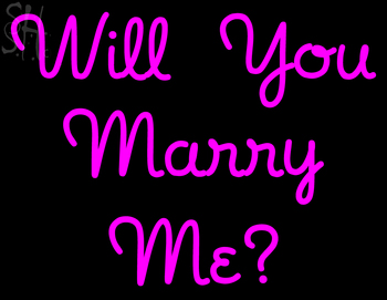 Custom Will You Marry Me Neon Sign 1 Neon Signs #2: custom will you marry me neon sign 1 wMpqF