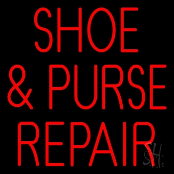 Shoe And Purse Repair Neon Sign