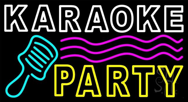 Karaoke Party Neon Sign   Music Neon Signs   Neon Light  Karaoke