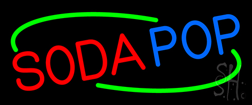 Soda Pop Neon Sign