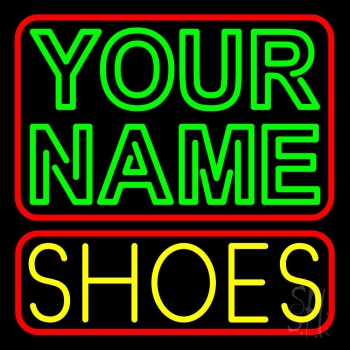 Custom Yellow Shoes Block Neon Sign #2: nl custom yellow shoes block neon sign