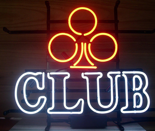Club Logo Neon Sign