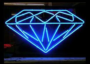 Diamond Logo Neon Sign