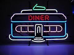 Dinner House Logo Neon Sign