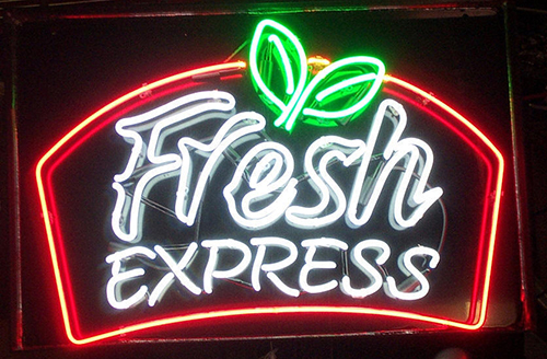 Fresh Express Neon Sign