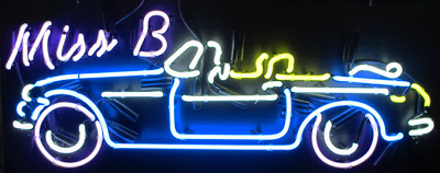 Hot Rod And Car Neon Sign