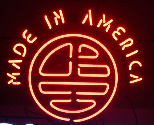 Made In America Neon Sign