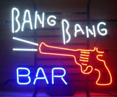 New Bang Bang Bar Logo Neon Sign