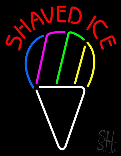 Shaved ice sign — photo 11