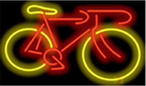 Bicycle Bike Home Neon Sign