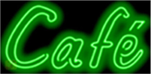 Cafe Coffee Food Neon Sign