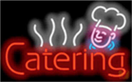 Catering Food Diet Neon Sign