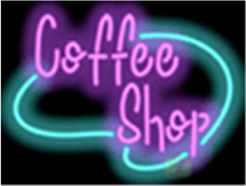 Coffee Cafe Neon Sign