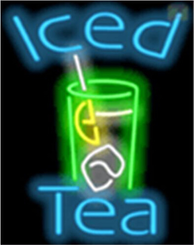 Iced Tea Catering Neon Sign