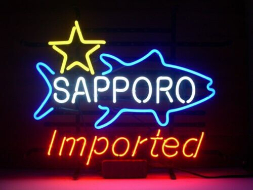 Sapporo Imported Home Beer Neon Sign