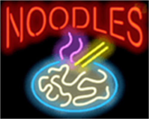 Noodles Catering Neon Sign